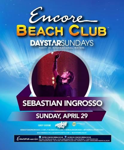 Sebastian Ingrosso @ Encore Beach Club (4/29/12)