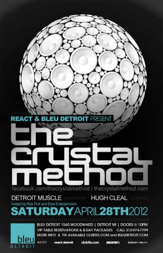 4.28 The Crystal Method - Bleu Detroit