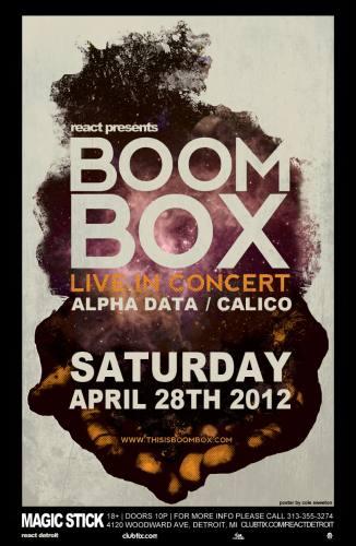 BoomBox @ Magic Stick