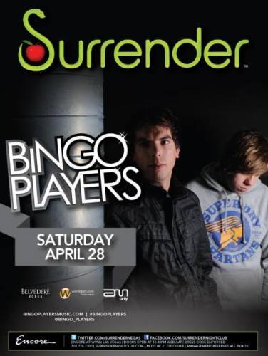 Bingo Players @ Surrender (4/28/12)