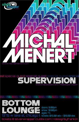 Michal Menert & Supervision @ Bottom Lounge