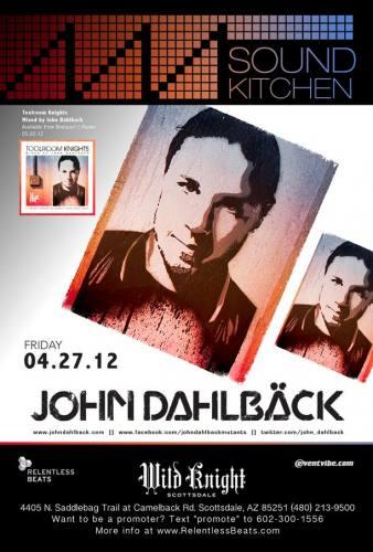 John Dahlback @ Wild Knight (4/27/12)