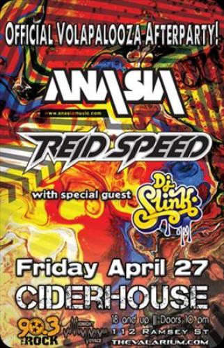 Ana Sia & Reid Speed @ Ciderhouse