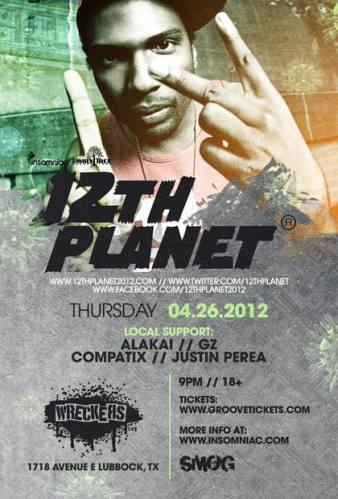 12th Planet @ Wreckers