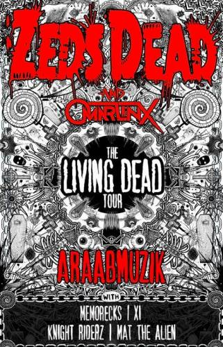 ZEDS DEAD @ Knitting Factory - Reno