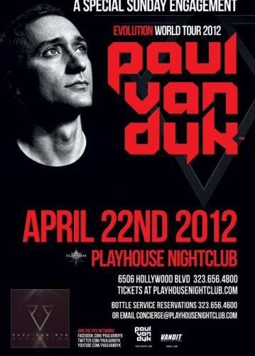 Paul van Dyk @ Playhouse