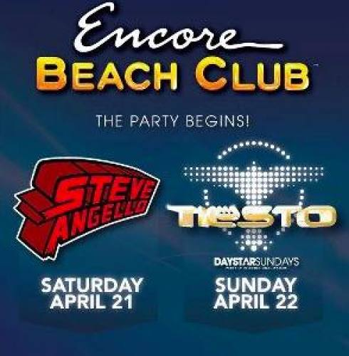 Tiesto @ Encore Beach Club (4/22/12)