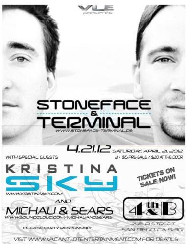 Stoneface & Terminal @ 4th & B