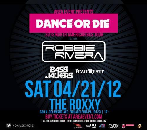 Robbie Rivera @ The Roxxy