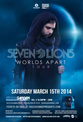 Seven Lions @ SoundGarden Hall