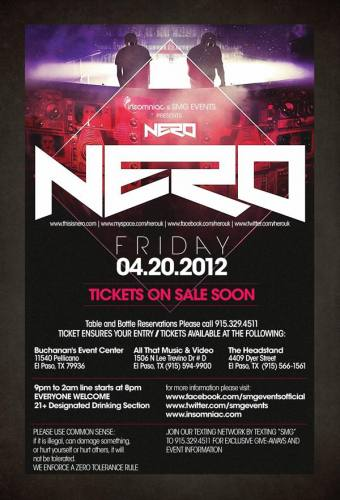 Nero (DJ) @ Buchanan's