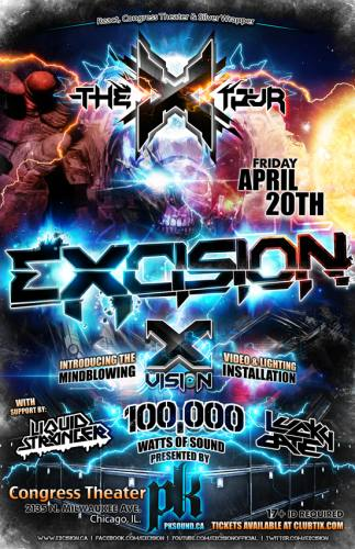 Excision @ Congress Theater