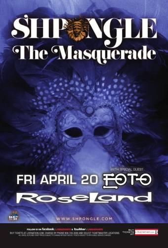 Shpongle: The Masquerade & EOTO: Lotus Flower @ Roseland Ballroom [4.20.12]