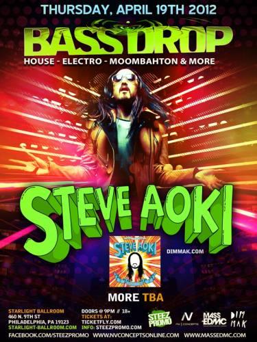 Steve Aoki @ Starlight Ballroom (4/19/12)