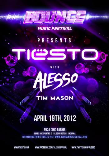 Bounce Music Festival ft Tiesto & Alesso