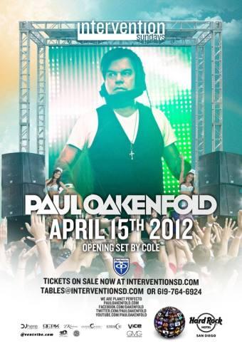 Paul Oakenfold @ Hard Rock Hotel - San Diego
