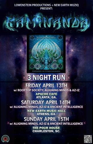 4:14 // Kaminanda + Aligning Minds + Dub Conscious Sit in @ New Earth