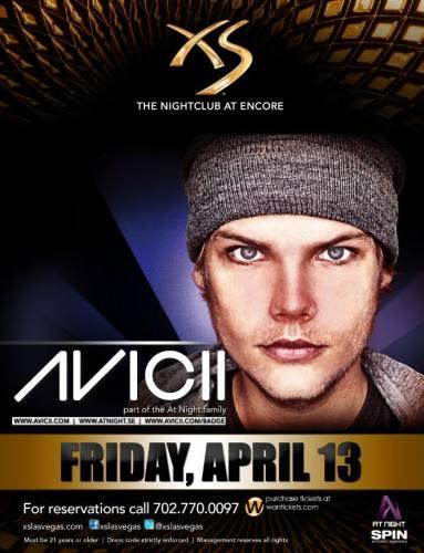 Avicii @ XS Las Vegas (4/13/12)
