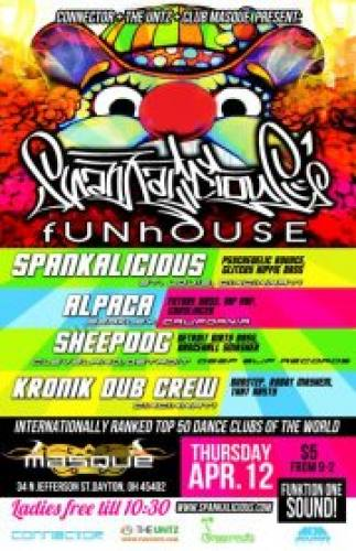 Spankalicious' Funhouse @ Club Masque
