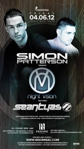Simon Patterson & Sean Tyas @ Exchange LA