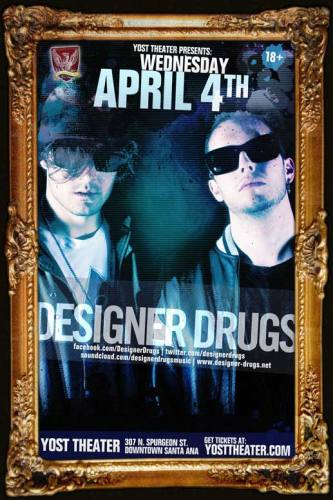 Designer Drugs @ Yost Theater (4/4/12)