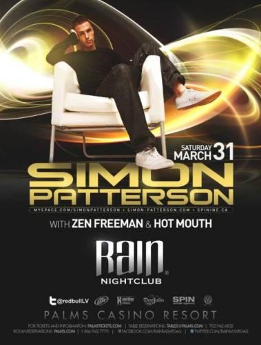 Simon Patterson @ Rain