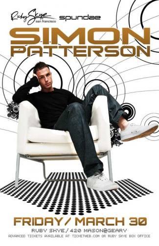 Simon Patterson @ Ruby Skye