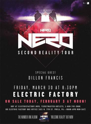 Nero @ Electric Factory