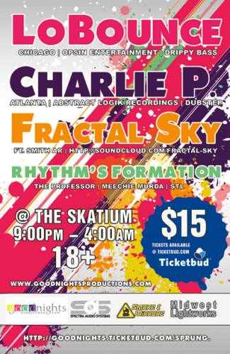 Sprung! LoBounce   Charlie P   Fractal Sky
