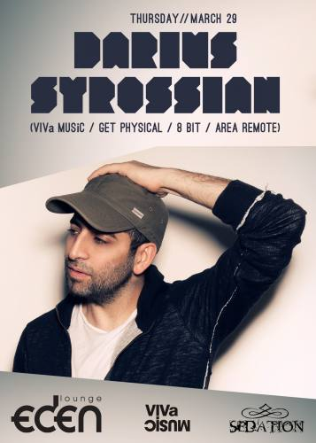 Sedation Thursdays with Darius Syrossian
