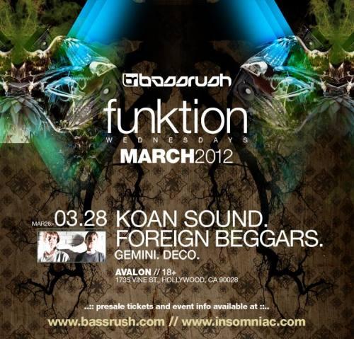 KOAN Sound & Gemini @ Avalon