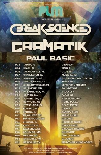 Gramatik, Break Science and Paul Basic @ The Music Farm