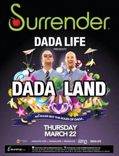 Dada Life @ Surrender (3/22/12)