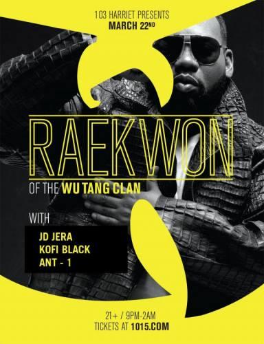 Raekwon (of The Wu-Tang Clan)