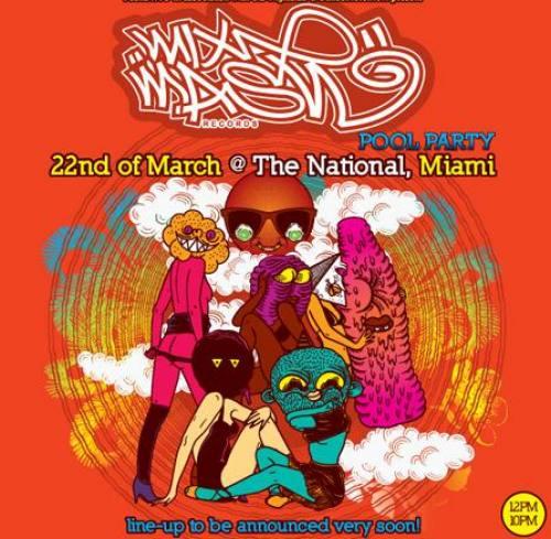 Mixmash Pool Party w/ Laidback Luke & Friends @ National Miami