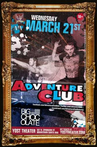 Adventure Club @ Yost Theater