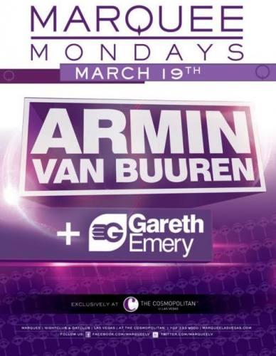 Armin van Buuren & Gareth Emery @ Marquee