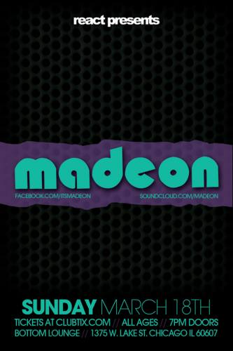 3.18 Madeon - Bottom Lounge