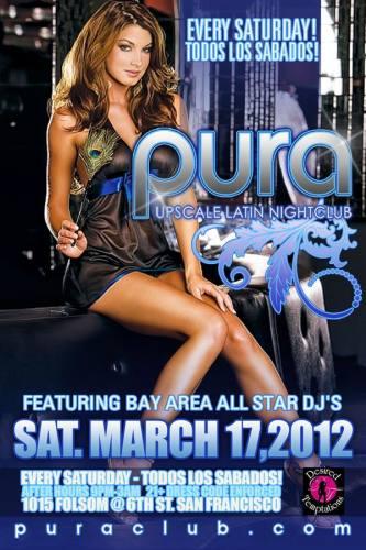 Pura Saturdays 3/17