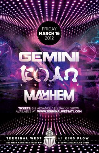 Gemini & KOAN Sound @ Terminal West