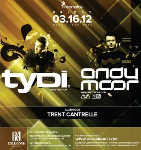 tyDi & Andy Moor @ Exchange - Los Angeles