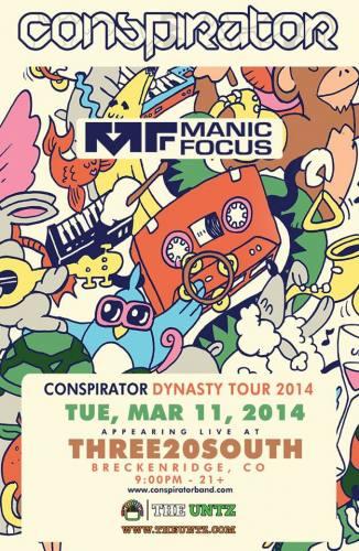 Conspirator @ Three20south (03-11-2014)