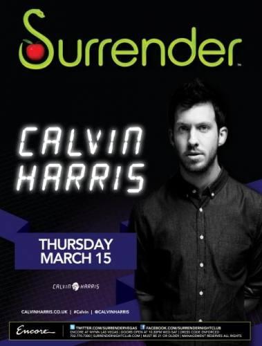 Calvin Harris @ Surrender (3/15/12)