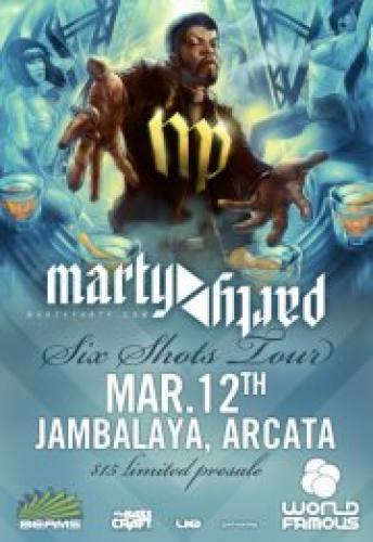 World Famous Productions presents MartyParty