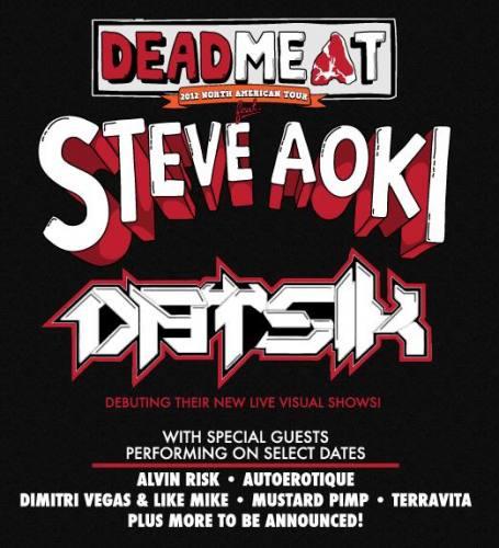 Steve Aoki & Datisk @ McDonald Theatre