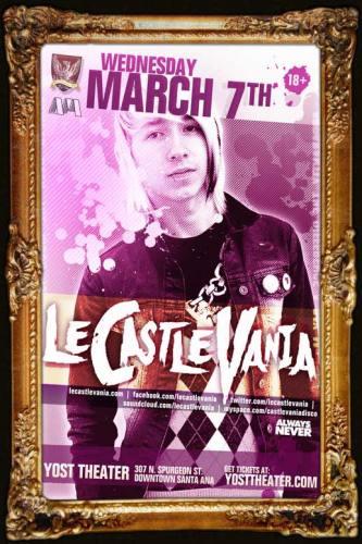 Le Castle Vania @ Yost Theater