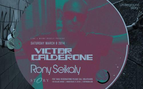 Victor Calderone + Rony Seikaly @ STORY Miami