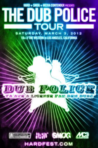 DUB POLICE TOUR ft Caspa & Trolly Snatcha @ The Wiltern