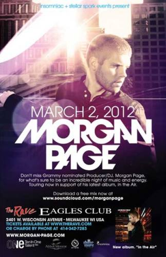 Morgan Page @ The Rave/Eagles Club