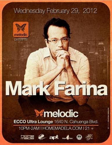 Mark Farina @ Ecco Ultra Lounge